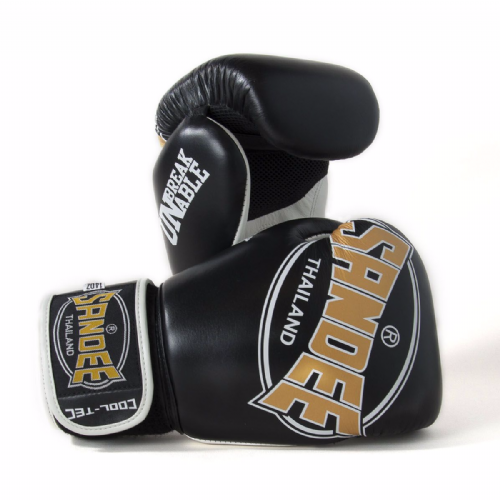 Sandee Cool-Tech Boxing Gloves Black/Gold